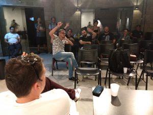 Em Londrina os jornalistas sugeriram a inclusão de itens na proposta.