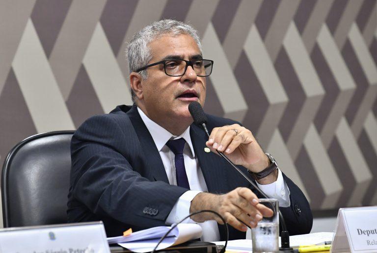 Deputado Christino Aureo, relator da MP que cria o Contrato de Trabalho Verde e Amarelo. Foto: Jane de Araújo/Agência Senado